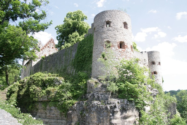 Freie Sicht von Burg Pappenheim