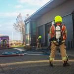 Grote brand in bedrijfsverzamelgebouw