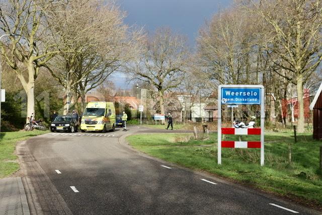 Gewonde bij ongeval in Weerselo