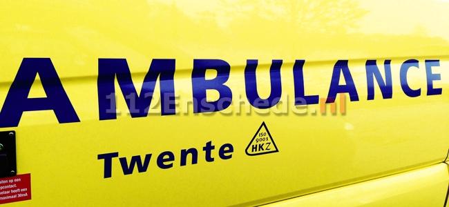 Ernstig ongeval in Enschede; traumahelikopter opgeroepen