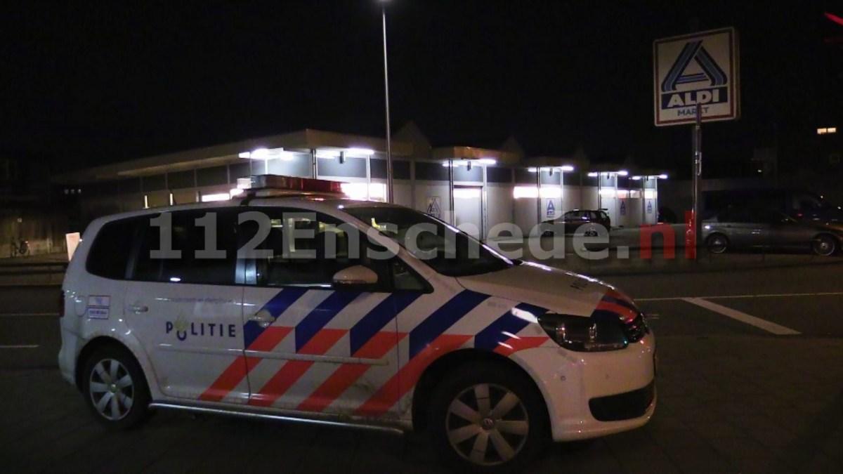 Foto 2: Gewapende overval op Aldi in Enschede