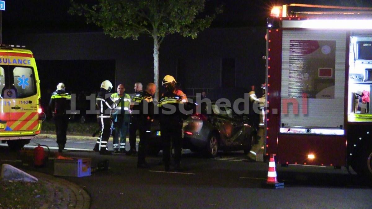 Ernstig ongeval Euregioweg Enschede
