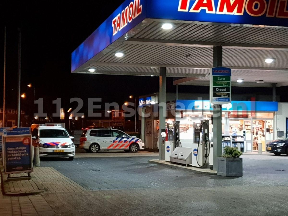 Overval op tankstation Enschede