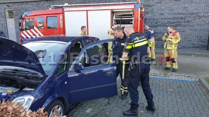 Autobrand in Enschede door vergeten poetsdoek