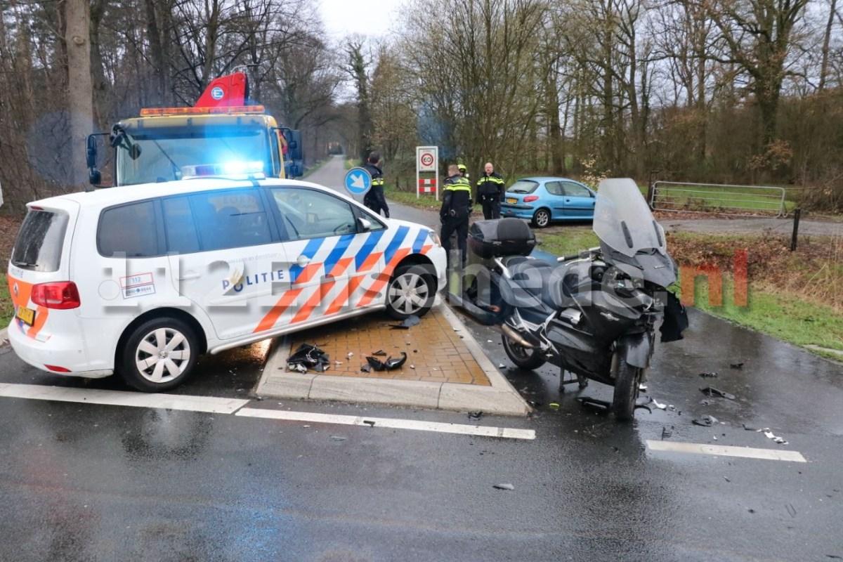 Grote verkeershinder door aanrijding Oostweg Enschede