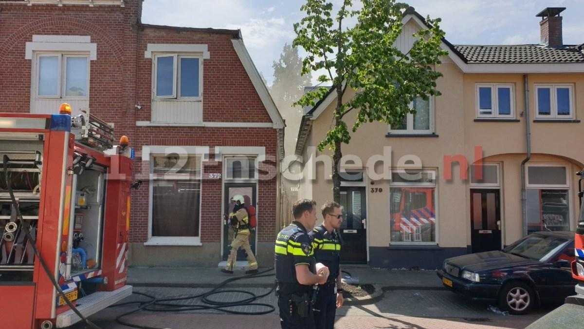 Brand in woning Enschede