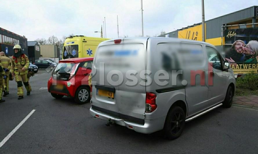 Ongeval tussen twee voertuigen in Losser