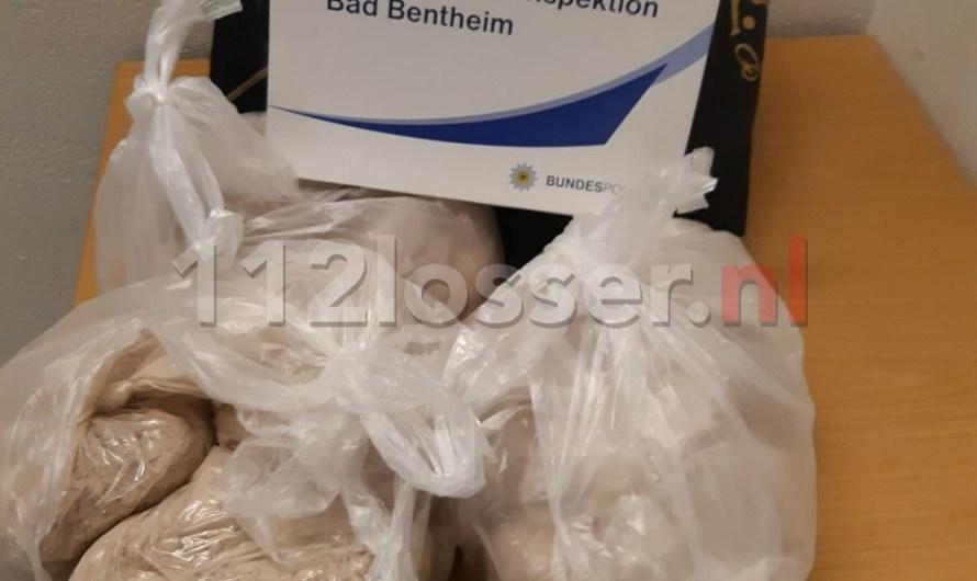 155.000 euro aan drugs aangetroffen in trein uit Nederland