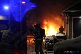 Renault cabrio uitgebrand in Fazantenkamp in Maarssen