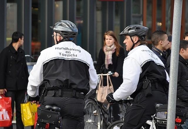 Handhaving op fiets