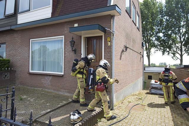 Hennepplantage ontdekt bij brand in schuur in Badhoevedorp