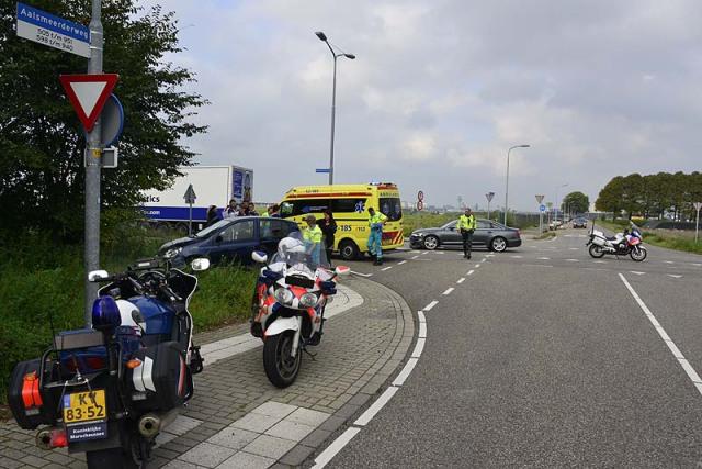Rozenburg: Zoveelste ongeval op het Beechavenue