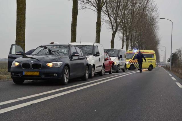 Hoofddorp: Gewonde bij ongeval Bennebroekerweg