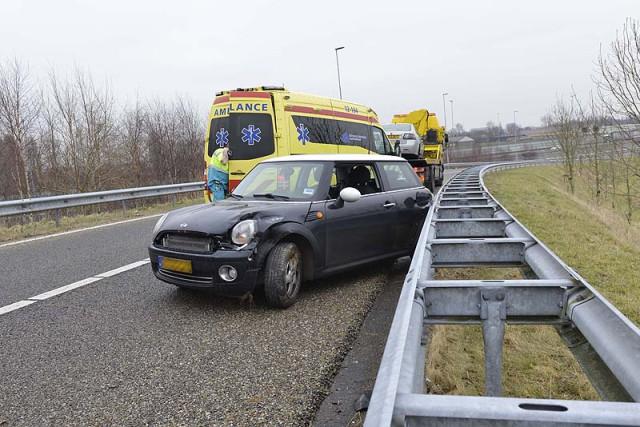 Lijnden: Vrouw gewond bij ongeval A5