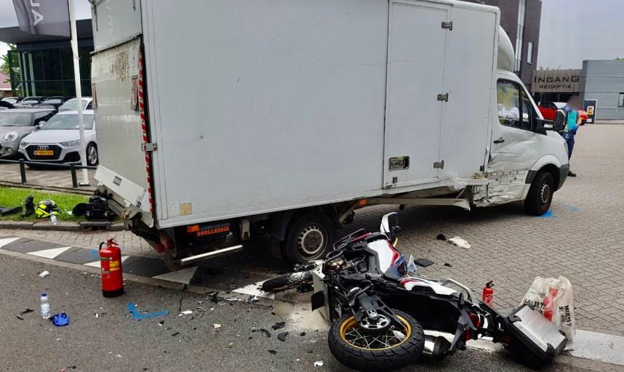 Motorrijder (65) overleden na aanrijding in Geesteren