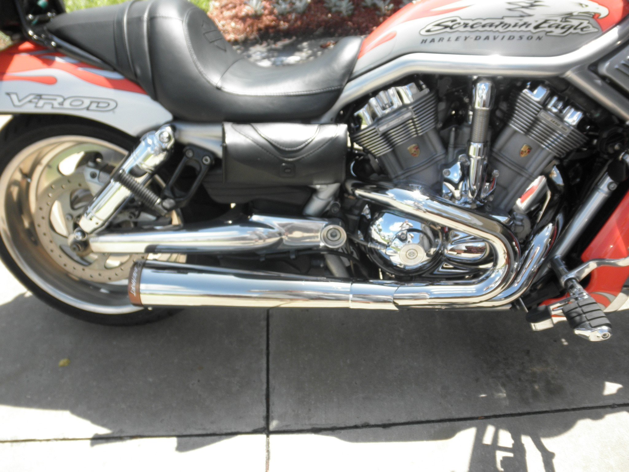 rinehart 2 1 exhaust chrome 425 s h