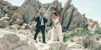 couple on beach in wedding dress This Jamaican man wants to marry me,