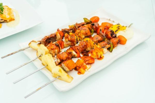 grilled-bbq-meat-stick-white-plate_74190-6239-min Easy Recipes for One Person on a Budget