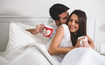 talk dirty couple with coffee cups bed 23 2147595920 min