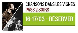 Pass 2 soirs - Festival Chansons dans les Vignes