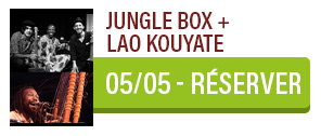 Musique du Monde - Jungle Box + Lao Kouyate