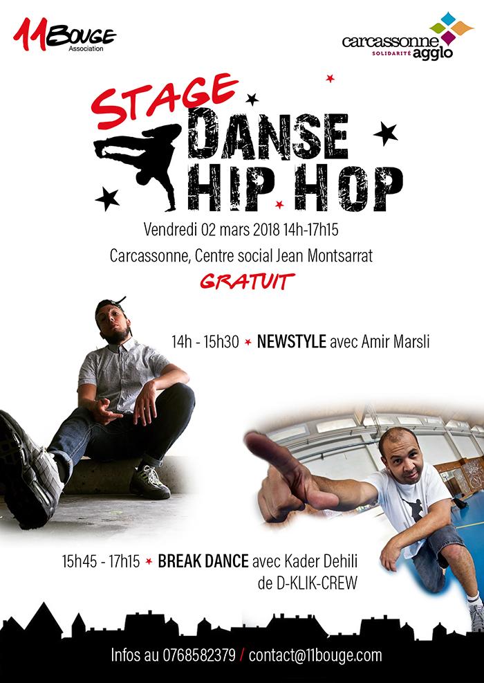 stage-danse Hip-Hop Centre social Jean Montsarrat