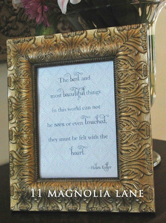 Free Printable Helen Kellery Best And Most Beautiful Things