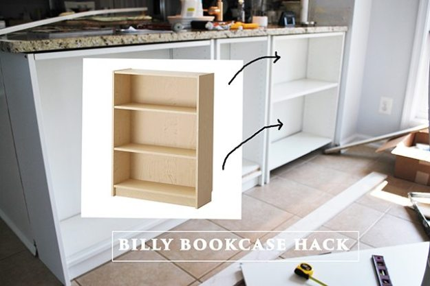 homeright bookcase challenge--diy bookcase to kitchen shelves | 11