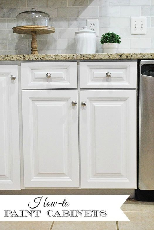 Painted Cabinets Header Marked
