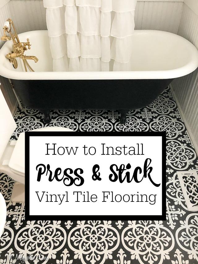 stick vinyl floor tiles