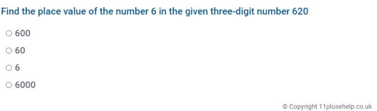Year 4 Place Value and Rounding Example 1