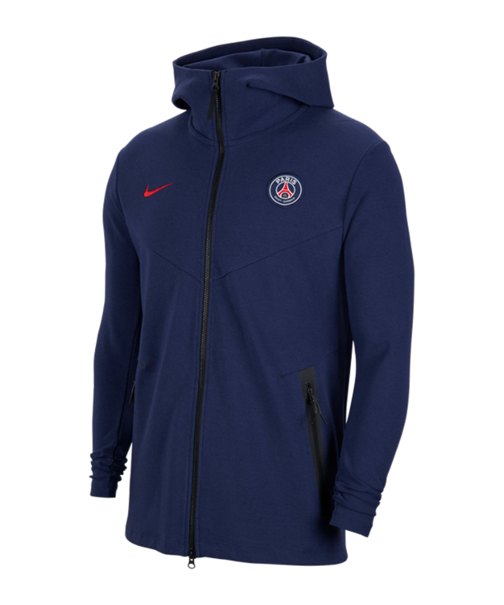 nike paris st germain kapuzenjacke kids blau f410