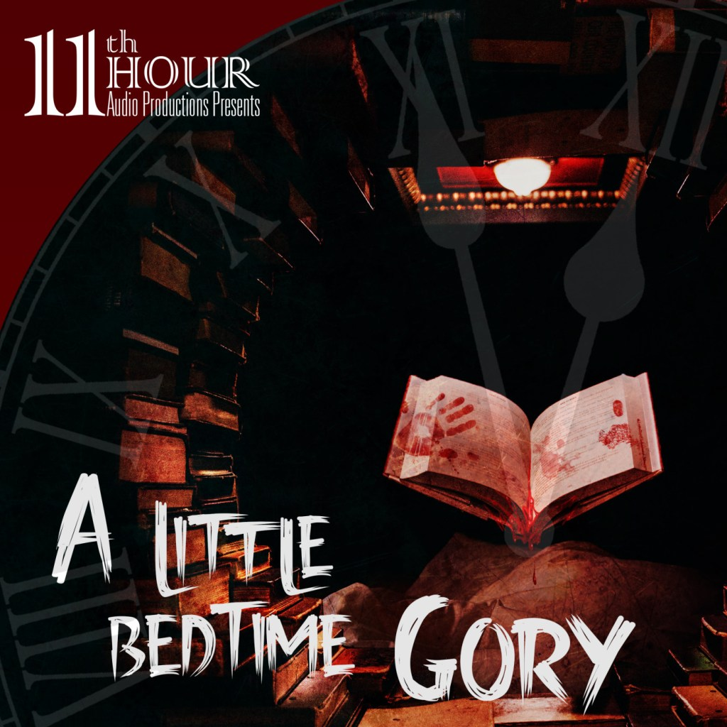 cover art for a little bedtime gory
