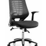 Office Chairs Relay Black Mesh Office Chair W Fabric Seat 121 Office Furniture