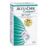 Accu-Chek Compact Diabetes Strips