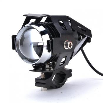 New Motorcycle CREE 125W U5 LED Driving Fog Head Spot Light White Lamp Headlight