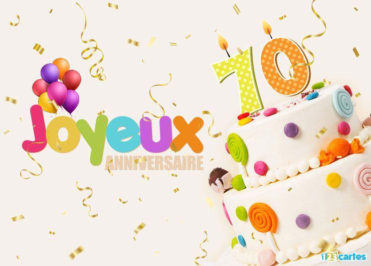 16 Cartes Joyeux Anniversaire âge 70 Ans Gratuits 123 Cartes