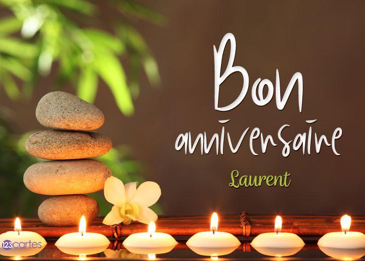 10 Cartes Anniversaire Avec Le Prénom Laurent 123cartes