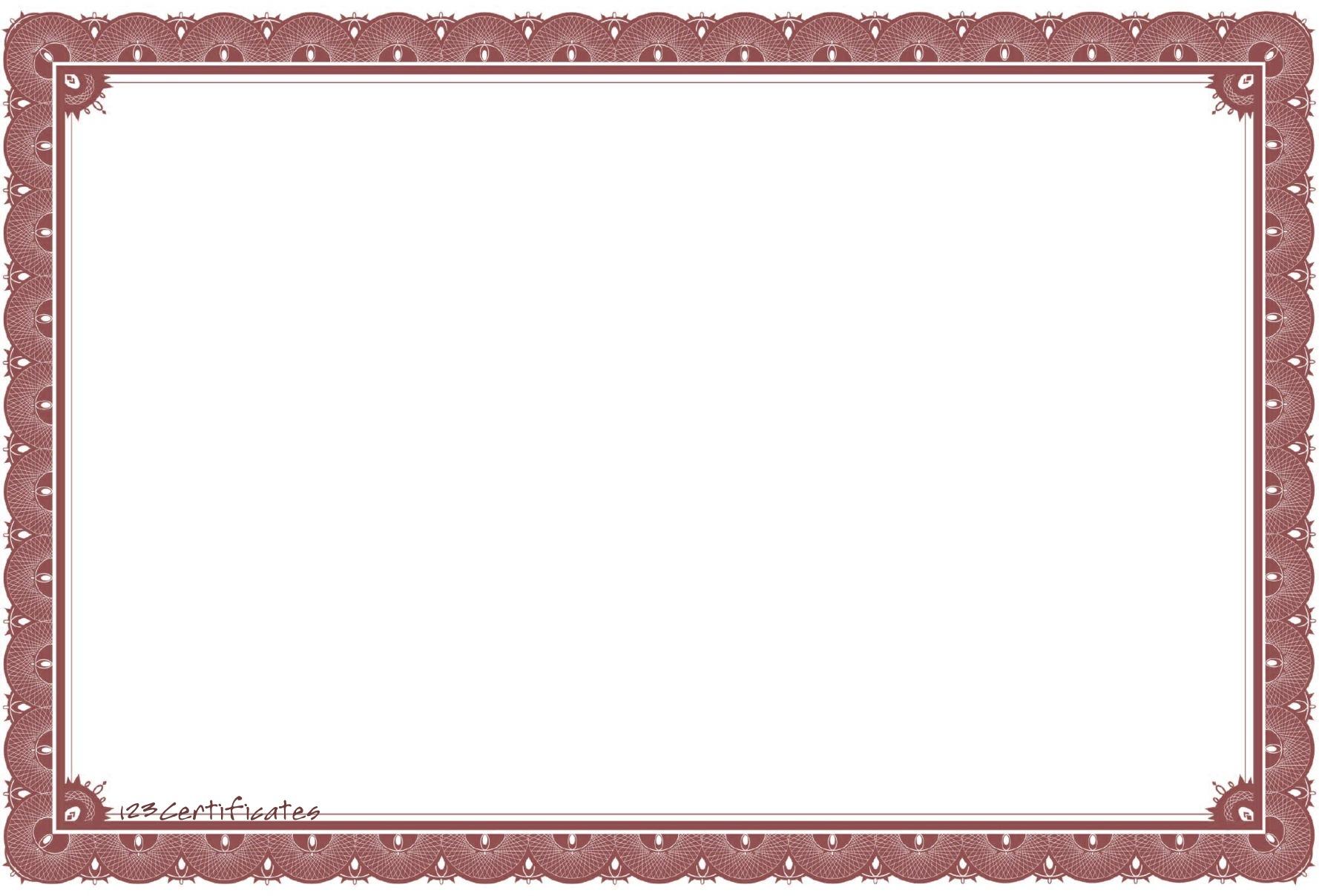 art certificate template free certificate borders certificate .