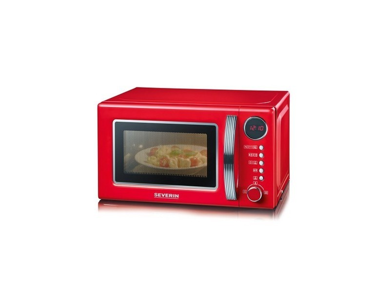 Soldes 16 Combine Micro Ondes Grill 20 L Rouge Silver Pas Cher