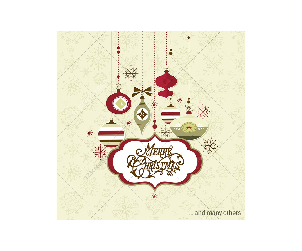Retro Christmas Vector Pack Many Vectors For Beautiful