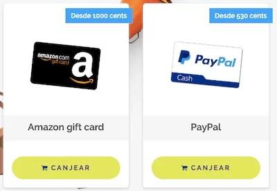Dinero PayPal en GiftHunterClub