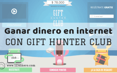 Como ganar dinero por internet con Gift Hunter Club