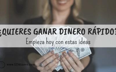 Cómo ganar dinero rápido: 19 ideas para empezar hoy