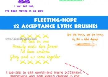 Acceptance Lyrics