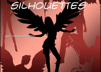 Angelic Silhouettes