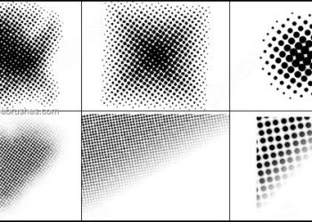 Halftone Free Photoshop Brushes