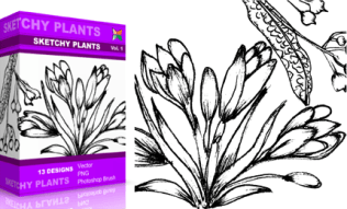 Vol.1 : Sketchy Plants