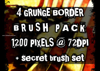Grunge Border 12