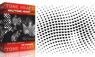 Halftone Heart Pack